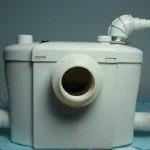 Pompa cu tocator pentru wc