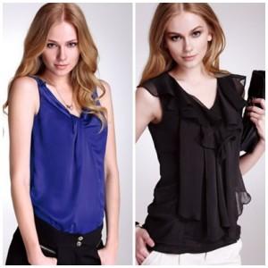 Care sunt principalele tipuri de bluze?