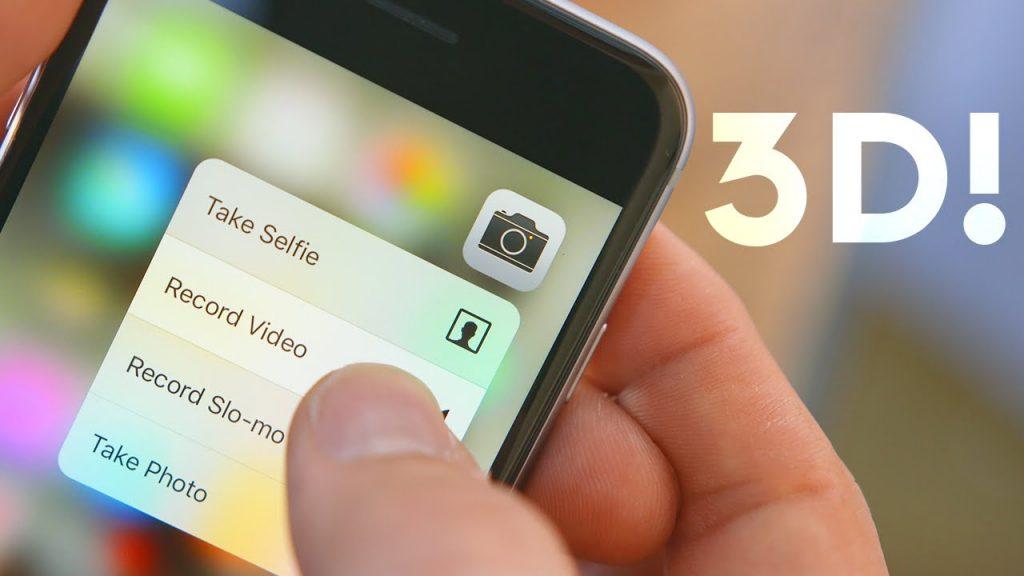 Cum se utilizeaza 3d Touch?